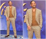 Will Smith In Tom Ford  @ Aladdin London Premiere