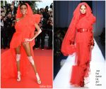 """Winnie Harlow  In Jean Paul Gaultier @  """"Once Upon a Time in Hollywood""""  Cannes Film Festival Premiere"""