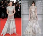 "Zhang Ziyi  In Givenchy  Couture @ ""Le Belle Époque"" Cannes Film Festival Premiere"