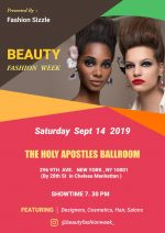 'Beauty Fashion Week' BY Fashion Sizzle