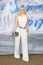 Ellie Bamber in Chanel @ the 2019 Serpentine Summer Party