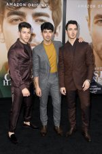 "The Jonas Brothers In  Ermenegildo Zegna XXX @ ""Chasing Happiness""  LA Documentary Premiere"