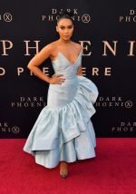 Alexandra Shipp in Christopher John Rogers @ Dark Phoenix LA Premiere