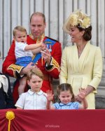 Catherine, Duchess of Cambridge In Alexander McQueen @ The Trooping the Colour
