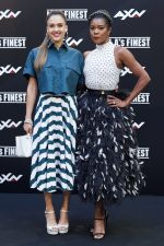 "Jessica Alba In Azzedine Alaia &  Gabrielle Union In  Prada @ ""L.A.'S Finest""  Madrid Photocall"