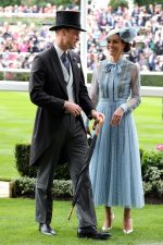 Prince William, Duke of Cambridge and Catherine, Duchess of Cambridge (in Elie Saab) @ Ascot Racecourse