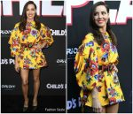 Aubrey Plaza In Carolina Herrera  @ 'Child's Play' LA Premiere