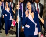 Cardi B  In Brogger Suit  @  Queens County Criminal Court