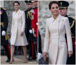 Catherine, Duchess of Cambridge  In Catherine Walker Coat @ Beating Retreat
