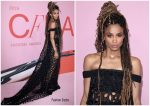 Ciara In Vera Wang @  CFDA Fashion Awards 2019