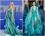 "Claudia Schiffer  In  Zuhair Murad Couture @""Rocketman"" New York  Premiere"