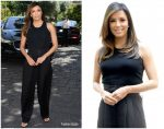 Eva Longoria In Givenchy @ Filming Italy Sardegna Festival Press Conference