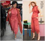 Gabrielle Union  In  Rosie Assoulin & Arias @  'L.A.'s Finest' London Promo Tour