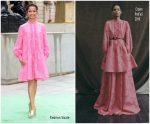 Gugu Mbatha-Raw  In Erdem @ Royal Academy of Arts Summer Exhibition