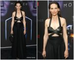 Hilary Swank In  Azzedine Alaïa  @ 'I Am Mother'   LA Netflix Screening