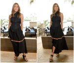 Jennifer Aniston  In  Loewe  @  Murder Mystery' LA Photocall  In Marina del Rey