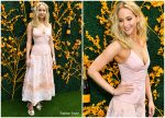 Jennifer Lawrence in Rosie Assoulin @ 2019 Veuve Clicquot Polo Classic