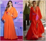 Jessica Alba In Silvia Tcherassi  @  2019 Monte Carlo TV Festival & TV Series Party