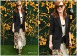 Julianne Moore In Givenchy @  2019 Veuve Clicquot Polo Classic