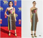 Kiernan Shipka In Fendi @ 2019 MTV Movie And TV Awards