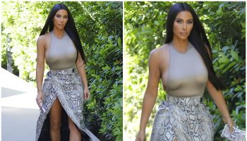 kimkardashian-in-kwaidan-editions-python-wrap-skirt-dinner-at-george-e-baldi-santa-monica