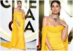 Lily Aldridge  In  Vivienne Westwood @ Bvlgari Exhibition In Italy
