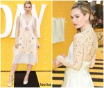 Lily James In Burberry  @  'Yesterday' London Premiere