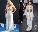 Mary J Blige In  Alberta Ferretti  @ 2019 BET Awards