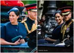 Meghan, Duchess Of Sussex In Givenchy @ Trooping the Colour