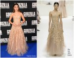 Millie Bobby Brown in Christian Dior Haute Couture @ 'Godzilla: King of the Monsters' London Premiere
