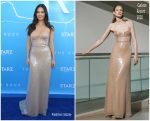 Olivia Munn In  Galvan @ 'The Rook' LA Premiere