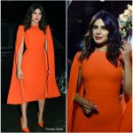 Priyanka Chopra In Alex Perry  @ Bumble Event in Mumbai