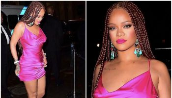 rihanna-in-hot-pink-dress-fenty-x-webster-pop-up-cocktail-party-in-new-york