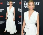 Sienna Miller in Oscar De La Renta @ 'The Loudest Voice' New York Premiere