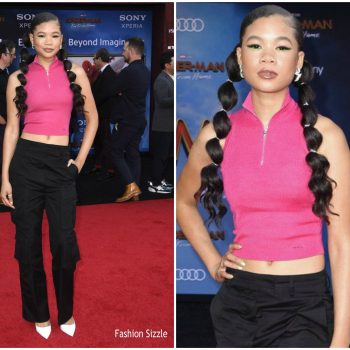 storm -reid-im-prada-spider-man-far-from-home-la-premiere