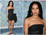"Zoë Kravitz  In Saint Laurent @  ""Big Little Lies"" Season 2 New York Premiere"