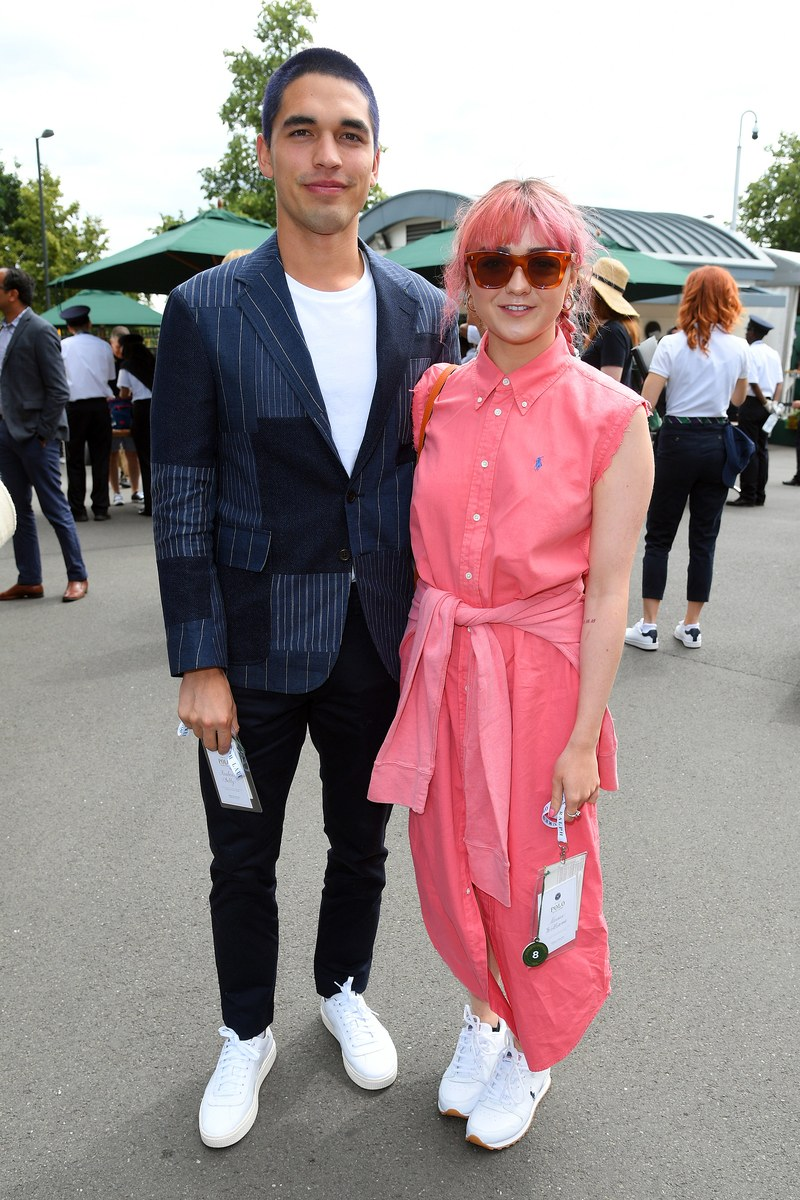 maisie-williams-in-polo-ralph-lauren-and-rueben-selby-@-wimbledon-2019