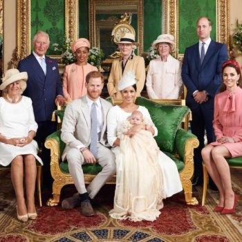 meghan,-duchess-of-sussex-&-prince-harry-celebrates-archie-harrison-mountbatten-windsor's-christening