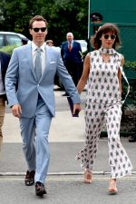 Benedict Cumberbatch and Sophie Hunter @ Wimbledon 2019
