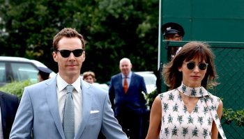 benedict-cumberbatch-and-sophie-hunter-@-wimbledon-2019