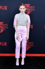 Sadie Sink in Prada @ Netflix's 'Stranger Things' Season 3 Premiere