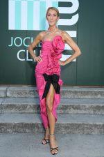 Celine Dion in Miu Miu @ Miu Miu Croisiere 2020 Fashion Show