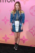 Riley Keough in Louis Vuitton @ 'Louis Vuitton X' LA Exhibition Opening