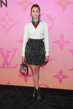 Nina Dobrev in Louis Vuitton @ 'Louis Vuitton X' LA Exhibition Opening