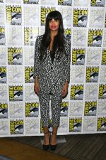 Jameela Jamil  In Kooples @ 'Good Place' Photocall during Comic-Con International 2019.