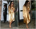 Beyonce Knowles  In Dion Lee @ Harry's Bar