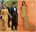 Beyoncé Knowles In Nguyen Cong Tri  @ Lion King  London Premiere