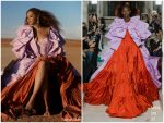 Beyonce Knowles  In Valentino For Lion King 'Spirit' Music  Video