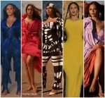 Beyonce Knowles Outfits For 'Spirit' Music Video