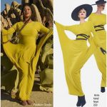 "Beyoncé Knowles In  Norma Kamali For ""The Lion King"" 'Spirit' Music Video"